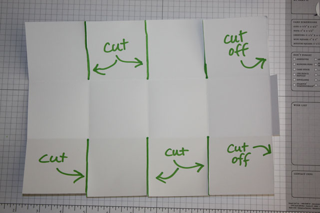 Box-cutting-pattern
