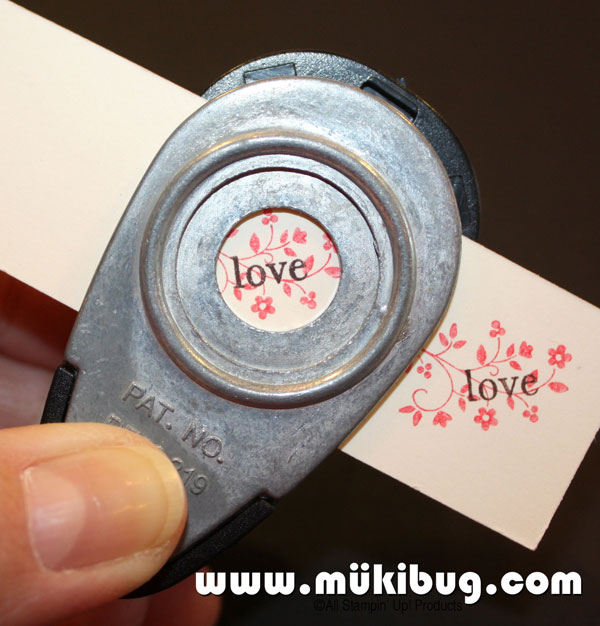 Rubber Stamping Charm Insert