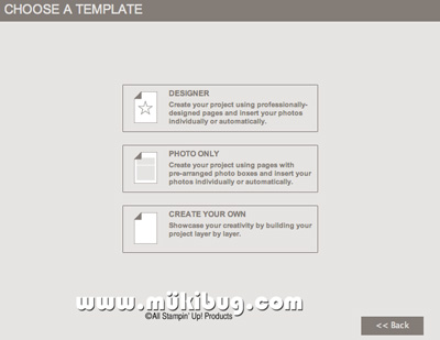 MDS-Choose-Template-screen